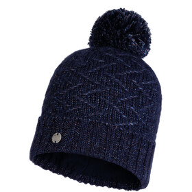 Buff Lifestyle Knitted and Polar Fleece Hat ebba night blue